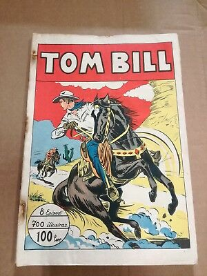 Tom Bill 25/32 8 Episodes Raccolta 1949 Balloon 700 Illustrated Edition Arc