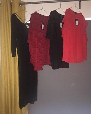 NEW LOOK Maternity TOP JUMPER Dress Bundle Size 16 Rrp£70 Tags Spring Summer 🌷