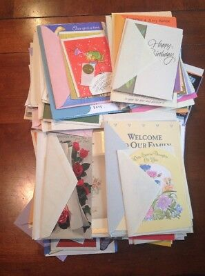 150+ Greeting Card Mixed Lot Mostly Hallmark All W/Envelopes