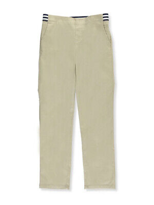 French Toast Big Girls' Pull-On Contrast Waist Pants (Sizes 7 - 20)