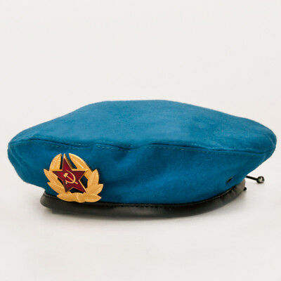 Russian Airborne Troops Blue Beret Original VDV Hat Russia Army Hat Size 59