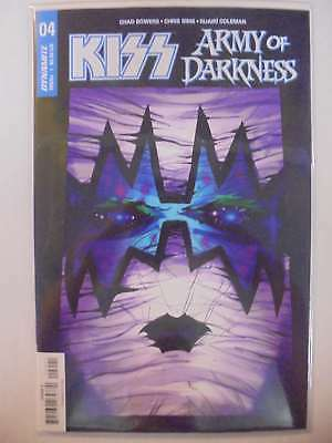 Kiss Army of Darkness #4 B Cover Dynamite NM Comics Book