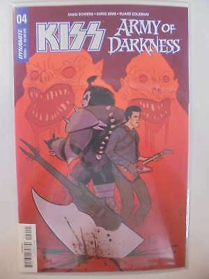 Kiss Army of Darkness #4 A Cover Dynamite NM Comics Book