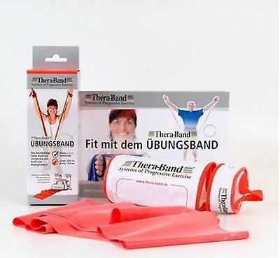 Thera-Band Übungsband in RV-Tasche 2,50 m inkl. Anleitung
