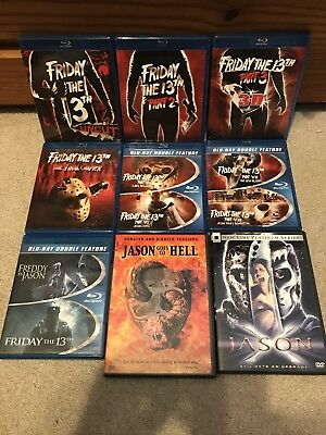 Friday the 13th - COMPLETE Blu-Ray / DVD Collection