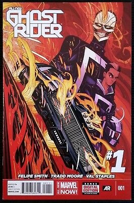All-New Ghost Rider #1 (2014, Marvel) 1st Robbie Reyes Ghost Rider!