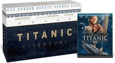 Titanic 15th Anniversary Collector's Edition: Blu ray 3D + Blu ray 2D + Digital