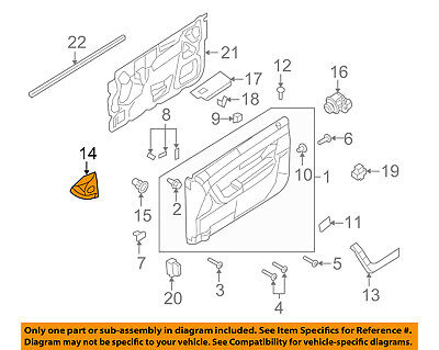 ford oem 08 11 focus door interior trim panel upper left rh picclick com Ford Ignition Switch Wiring Diagram Ford Wiring Harness Diagrams
