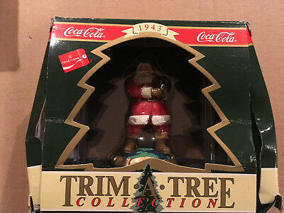 "Coca Cola Trim-A-Tree Collection ""Travel Refreshed"" 1995"