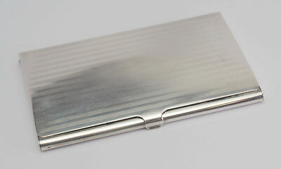 Antque Tiffany & Co. sterling silver business card holder