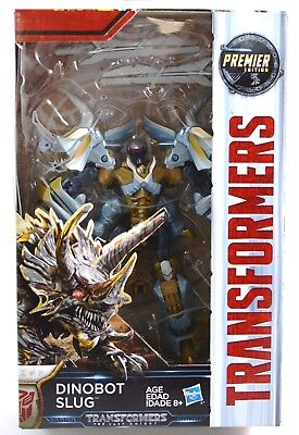 Transformers Dinobot Slug Figure The Last Knight Deluxe Class 2016 Hasbro MISB