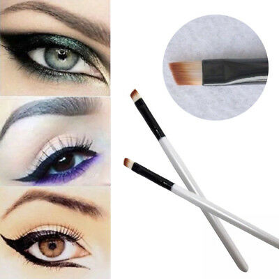 Professional Women Elite Angled Eyebrow Brush Nice Eye Liner Brow Makeup Tool