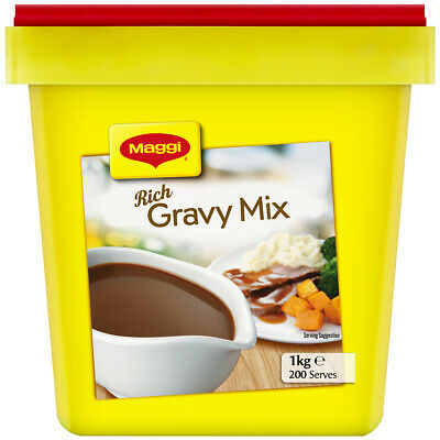 1kg Maggi Rich Gravy Mix Classic 1kg tubBest Before 02 July 2019