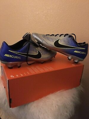 9fec54a0998b Nike Mercurial Veloce III Neymar FG Soccer Cleats Men s Shoes 921505-407 NO  LID