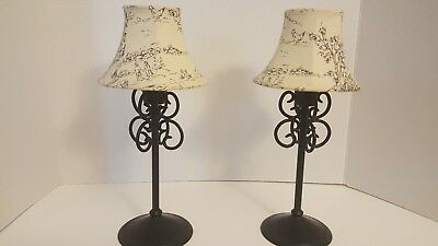 Two Partylite Votive Lamps