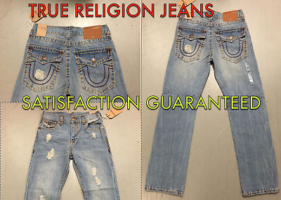 * NWT * True Religion Ricky With Flap Super T Mens Jean's FREE SHIPPING