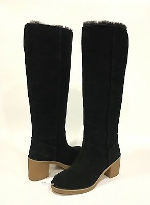 02783d1ab5d UGG WOMEN'S KASEN Tan Suede Sheepskin Lined Booties Boots 2.5