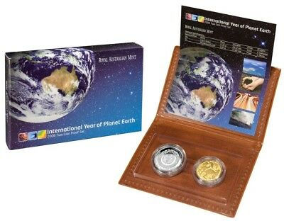 2008 Australian 2 Coin Proof Set of Coins (issue price was $45.00)