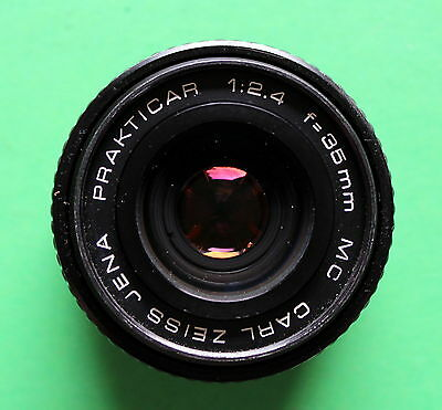 Lens Prakticar 2.4/35 (Flektogon) with B Mount