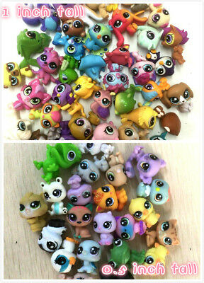 "Random 40x Littlest pet shop LPS Animal Figure baby doll toy(20x 1"" +20x 0.5"" )"