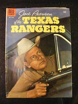 Jace Pearson of the Texas Rangers #9 (Feb-Apr 1955, Dell) Golden Age Comic Book