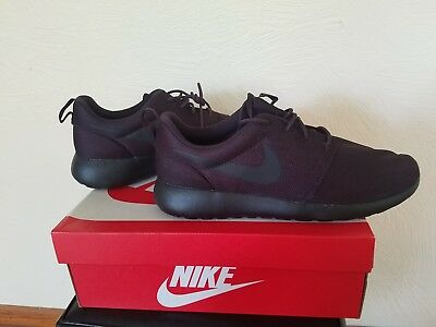 the best attitude dafb9 f2ebe NIKE ROSHE ONE Shoes Maroon/Black Men's Size 11 New With Box!