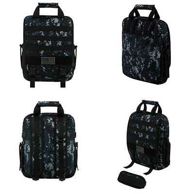 d9827d4d72 RTC510 Tactical Molle Camouflage Laptop Sling Bag NAVY Camo FREE SHIPPING