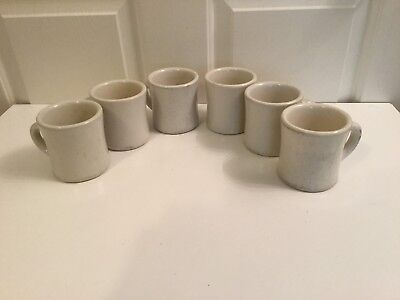 Vtg Victor Coffee Mugs 6 Count