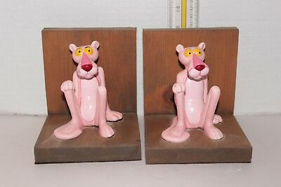 The Pink Panther Figurine Book Ends