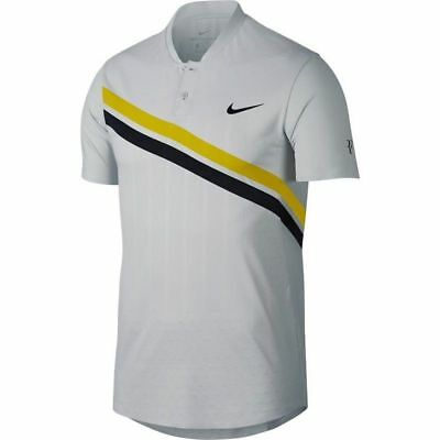 Nike Court Zonal Cooling RF Roger Federer Advantage Tennis Polo M 887541 092