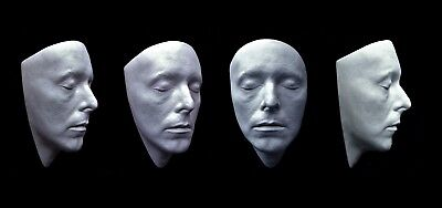 david bowie face cast mask life size the hunger 1983. (white)