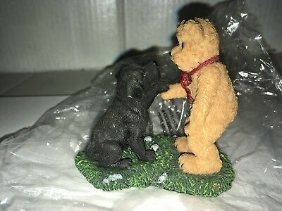 Boyds Bears & Friends Puppy Paws and Pals Buddy and Brewster