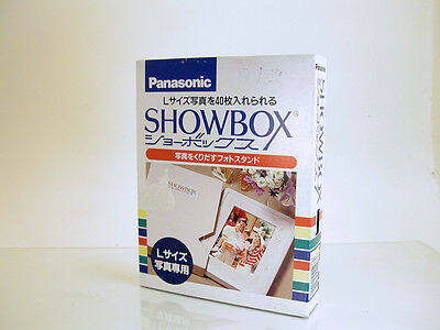 Rare Panasonic Showbox Picture Frame Photo Viewer w/ Original Japanese Packaging