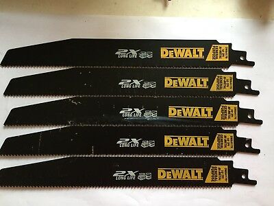 Dewalt 2X Life General Purpose 10 Tpi Sawzall Blades-5 Pcs