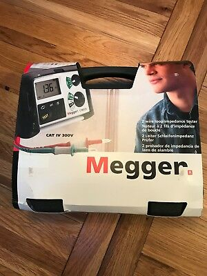 Megger LTW325-RS-BS Loop Impedance & RCD Combined Tester, Loop Impedance Test Ty