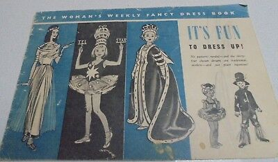Vintage The Womens Weekly Fancy Dress Book Dress Up Booklet No Patterns Needed