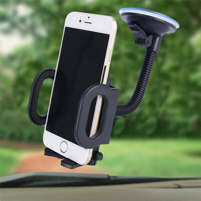 360° Car Windshield Mount Holder Bracket Cradle For iPhone Cell Mobile Phone-GPS