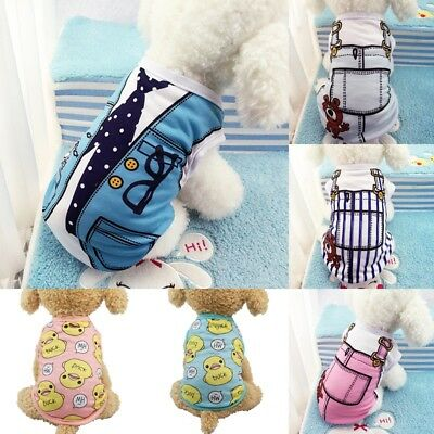 Pet Coat Dog Jacket Spring Clothes Puppy Cat Sweater Coat Clothing Apparel DS