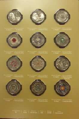 2018 30th anniversary of the two dollar coin twelve coin collection