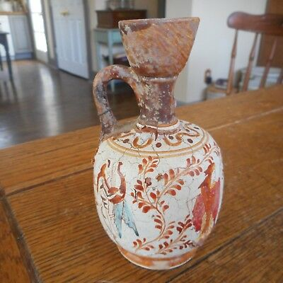 Handmade Copy Of Classical Period 500 BC Greece Pitcher Vase-Greek Figures