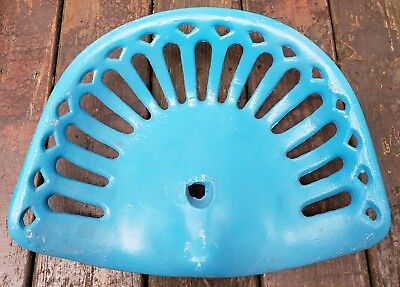 Vintage Cast Iron Tractor Seat