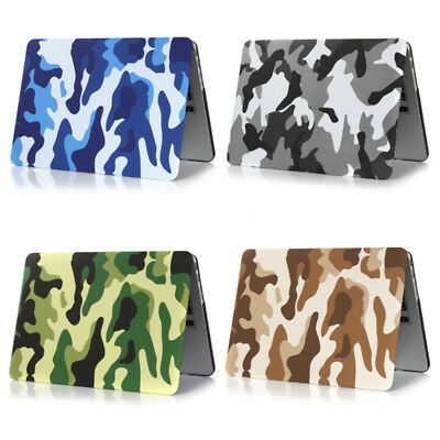 Camo Laptop Protective Hard Case Cover for Macbook Air Pro 11.6 12 13.3 15.4 IE