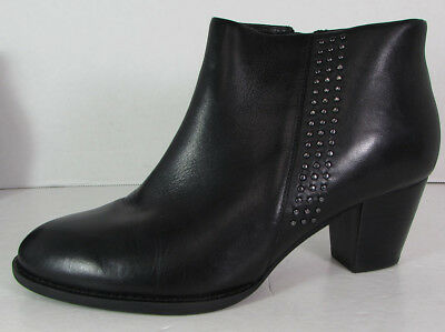 9edddd693201f Vionic Womens Upright Georgia Zip Up Heeled Ankle Bootie Shoes