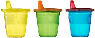 The First Years Take and Toss Spill-Proof Sippy Drink Cups - 7 Oz, 6 Pack, NEW