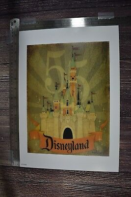 Disney Parks Disneyland 55th Anniversary Day One Print By Jimmy Pickering