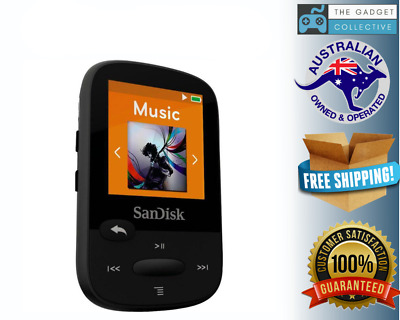 SanDisk 16GB Clip Sport PLUS Portable Media Music Player - 3 Colours to choose f