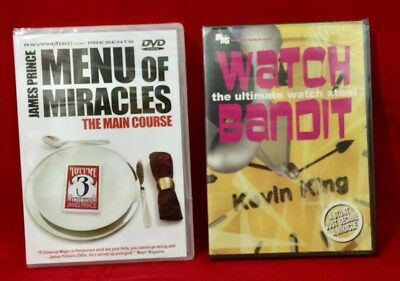 Menu of Miracles III - The Main Course by James Prince & Watch Bandit.R- $64.95