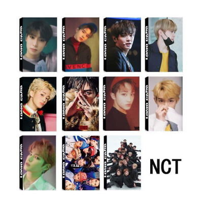 30Pcs KPOP NCT 2018 Official Photocard Photo Card Poster Lomo Cards Members New