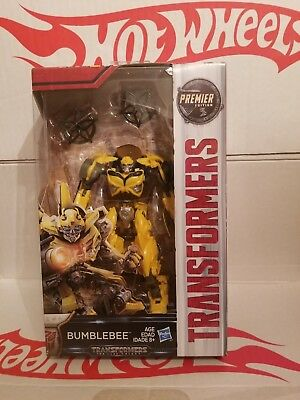 Transformers The Last Knight Premier Edition Deluxe Bumblebee, New VHTF