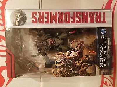 Transformers The Last Knight Deluxe Premier Edition Decepticon Berserker New